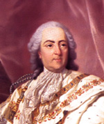 Louis XV roi de France de 1715 à 1774